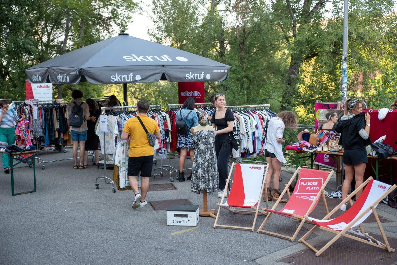 Clubkultur meets Vintage-Sale im Werk Wien