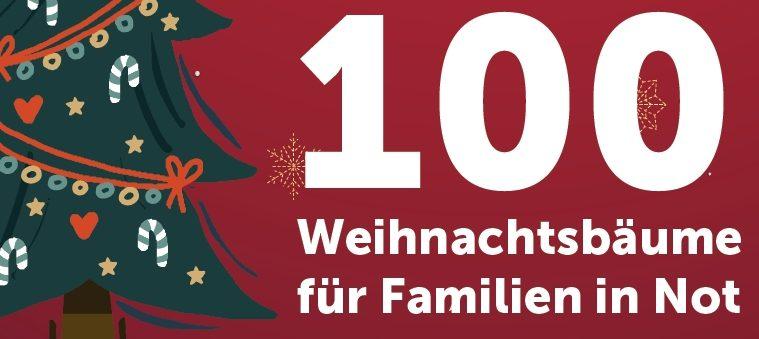 100 Weihnachtsbäume für Wiener Familien inNot