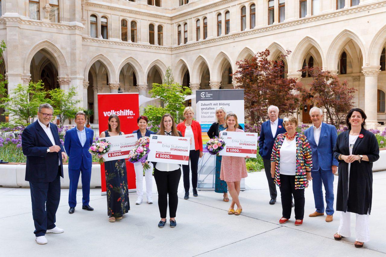 Erika-Stubenvoll-Stipendium: Auszeichnung für Soziale Arbeit